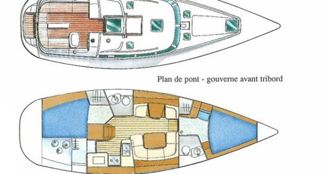 Rental yacht San Adrian de Cobres - Jeanneau Sun Odyssey 40 DS on SamBoat