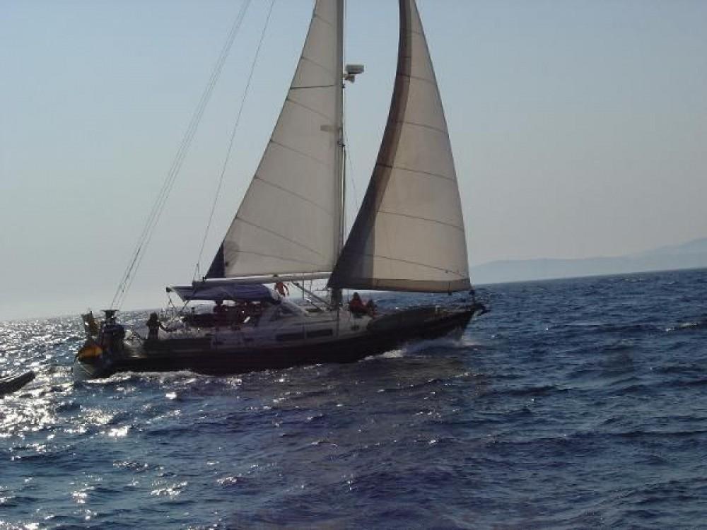 Boat rental Galicia cheap Oceanis 44 CC