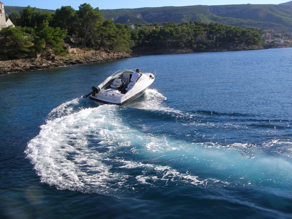 Motorboat for rent Zlin at the best price