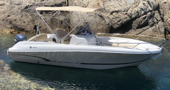 Rental Motorboat in Calvi - Jeanneau Cap Camarat 635 Style