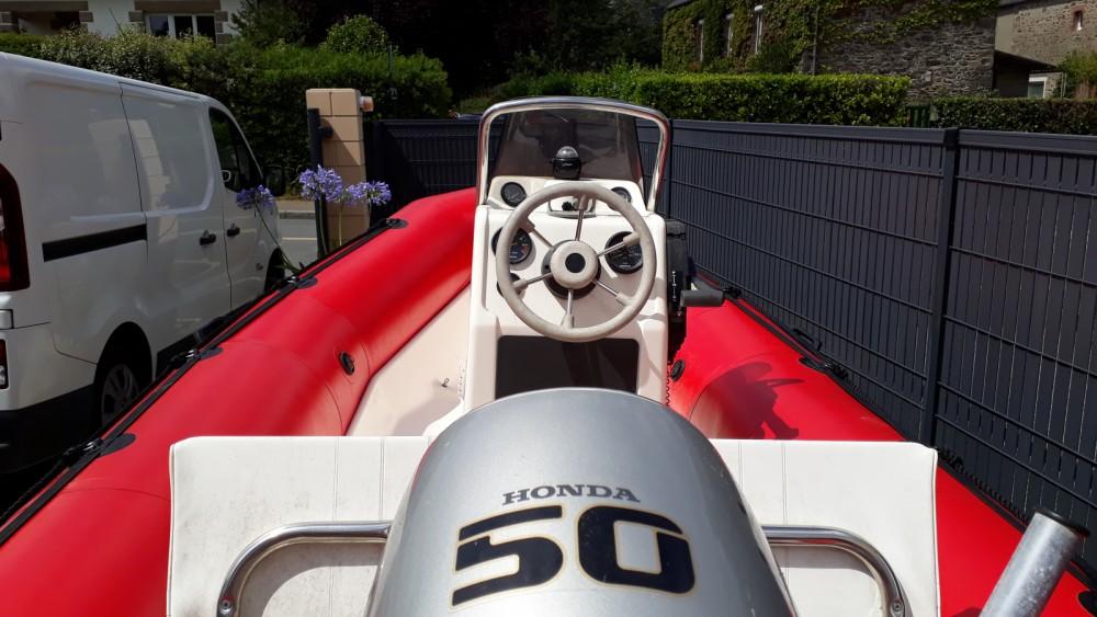 Boat rental La Richardais cheap Pro ll 470