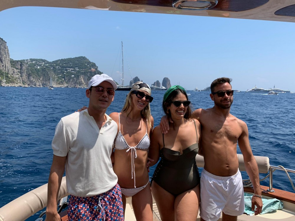 Apreamare 30 between personal and professional Positano
