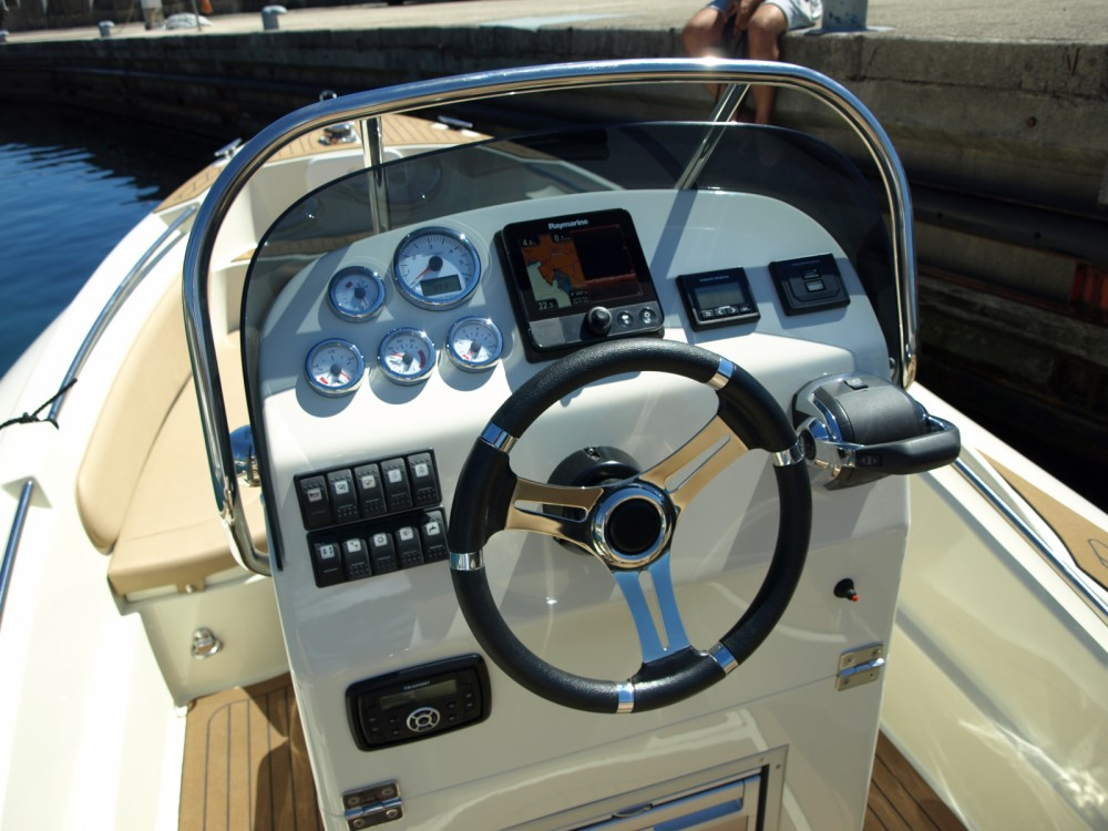 Hire RIB with or without skipper Scanner Opatija