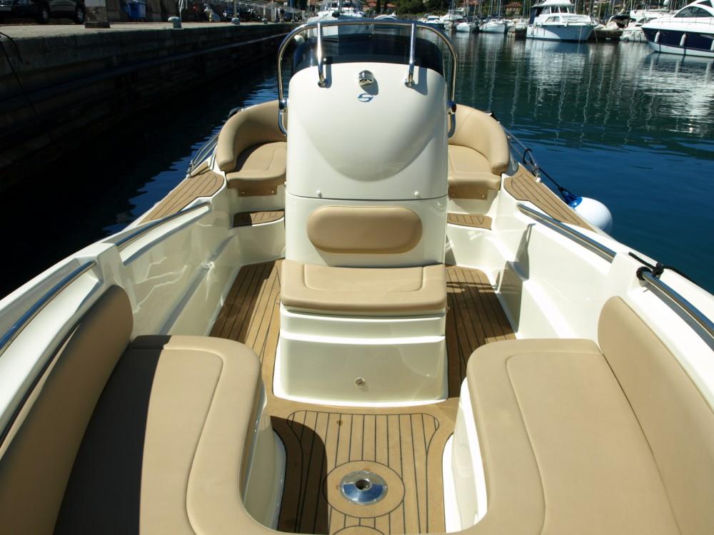 Boat rental Opatija cheap Envy 710