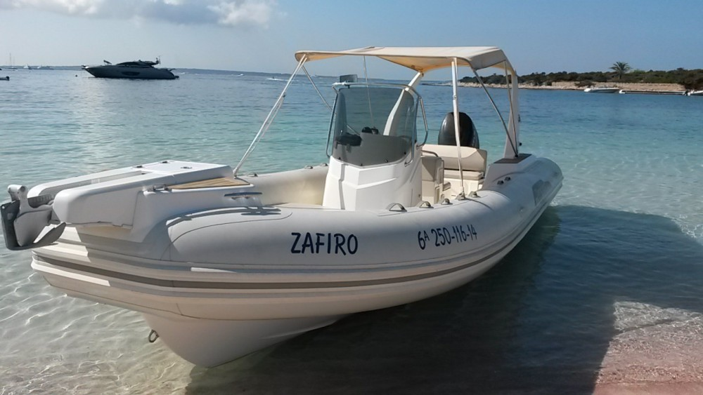 Boat rental Balearic Islands cheap Tempest 770 Sun
