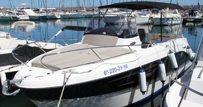 Boat rental Villajoyosa cheap Activ 805 Sundeck
