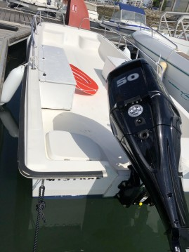 Hire Motorboat with or without skipper Nauty-Boy Arcachon