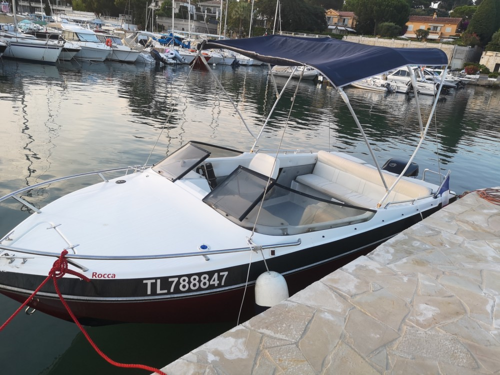 Rental Motor boat Rocca with a permit