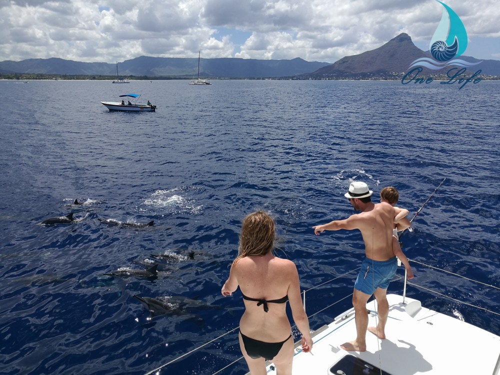 Hire Catamaran with or without skipper Lagoon Black River