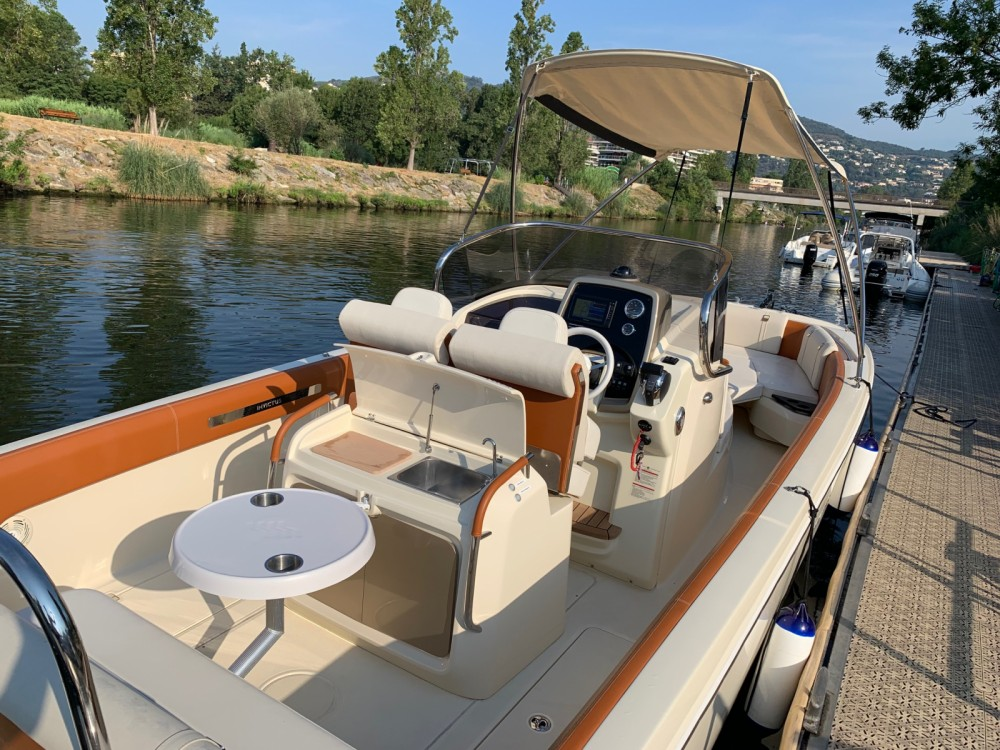 Hire Motorboat with or without skipper Invictus  Mandelieu-la-Napoule
