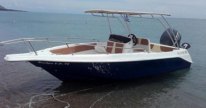 Boat rental Rhodes cheap Elite 18