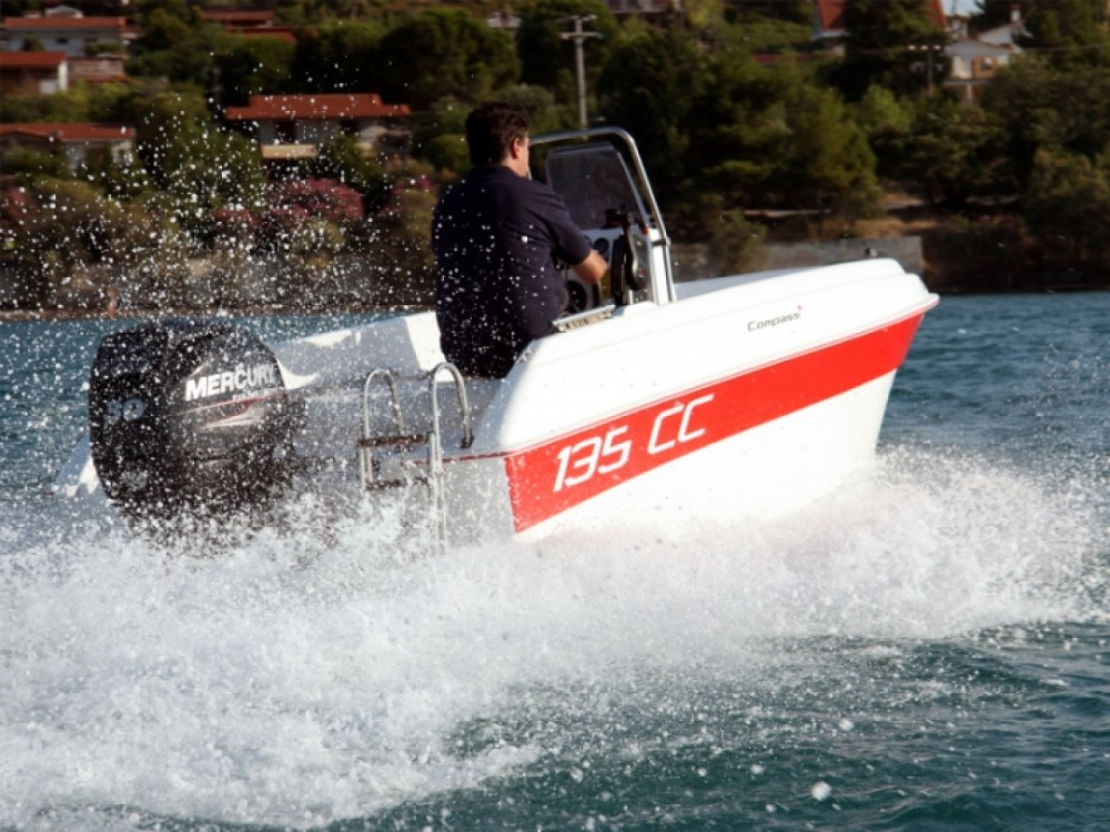 Rental Motorboat in Aegean - compass 135 CC