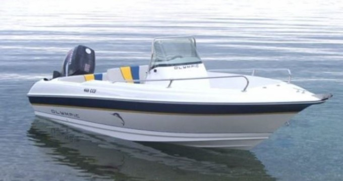 Rental Motorboat Olympic with a permit