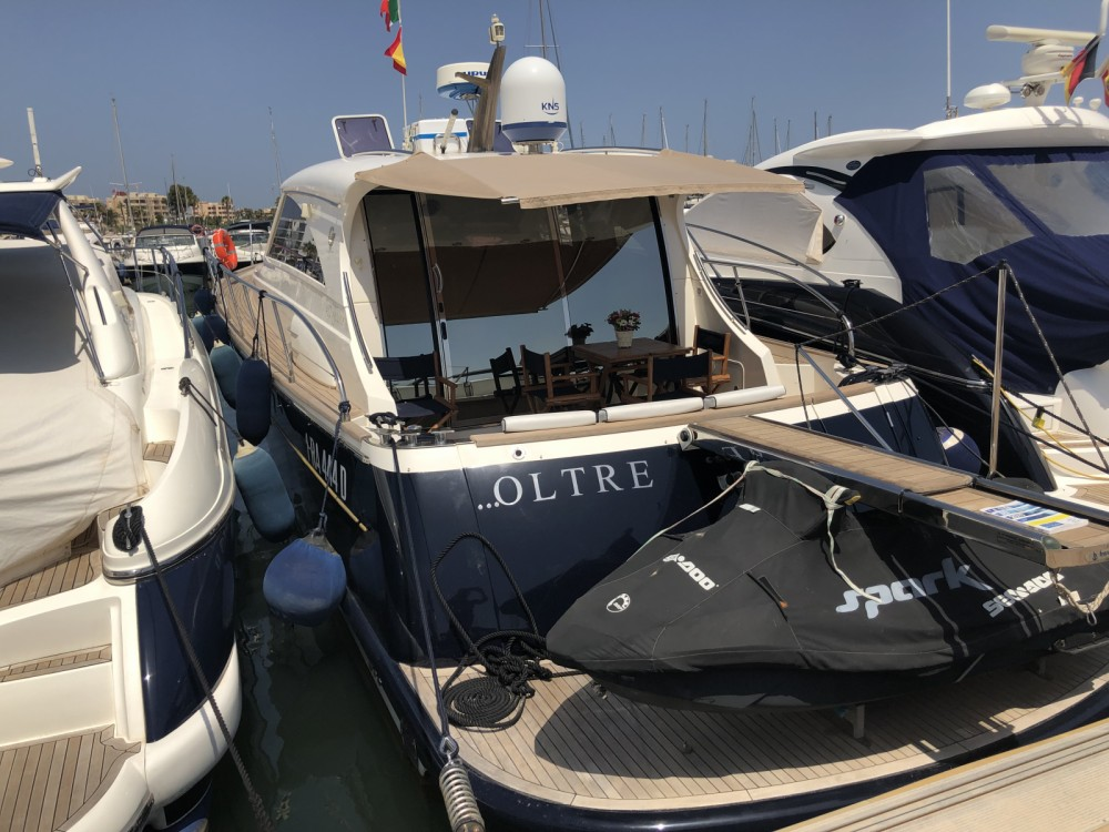 Cantieri Estensi Goldstars 48 between personal and professional Balearic Islands