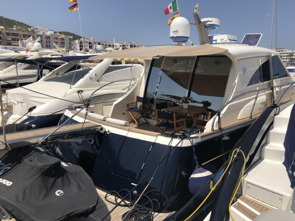 Boat rental Cantieri Estensi Goldstars 48 in Balearic Islands on Samboat