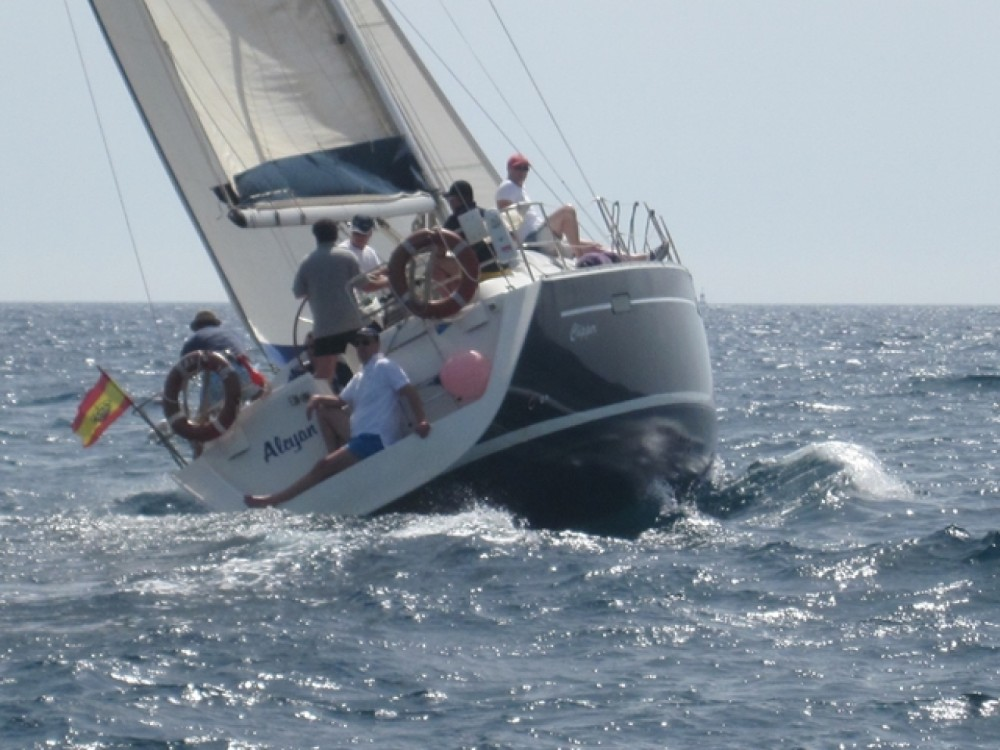 Boat rental Catalonia cheap Oceanis 393 Clipper