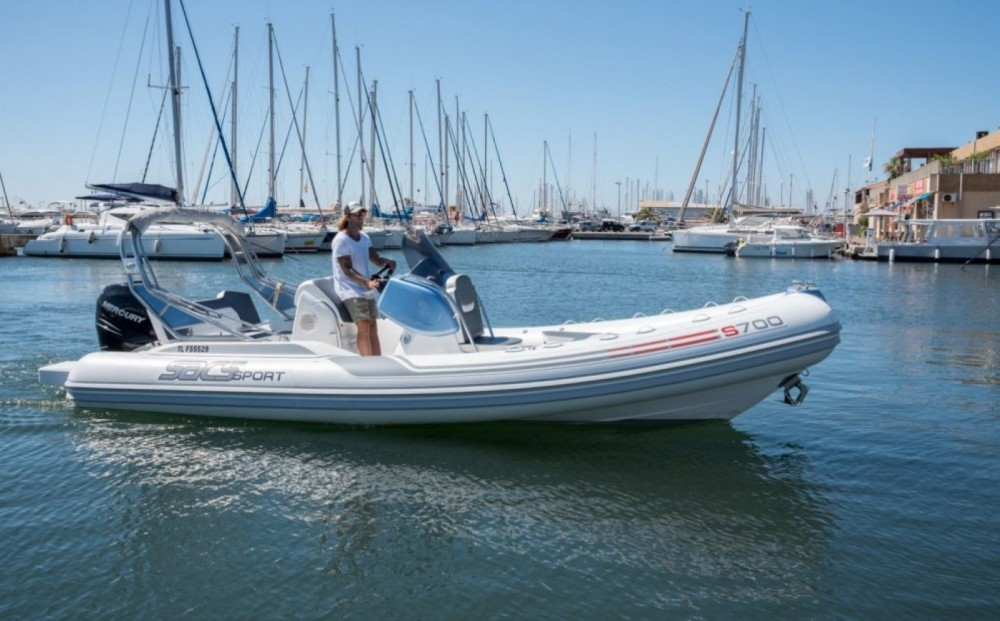 Hire RIB with or without skipper Sacs Hyères
