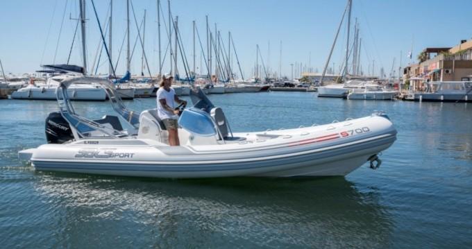 Rental yacht Hyères - Sacs Sacs S 700 on SamBoat