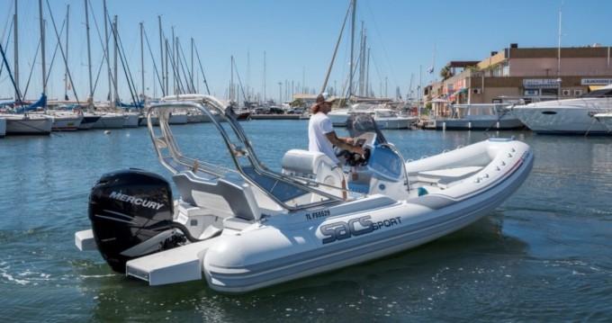 Boat rental Hyères cheap Sacs S 700