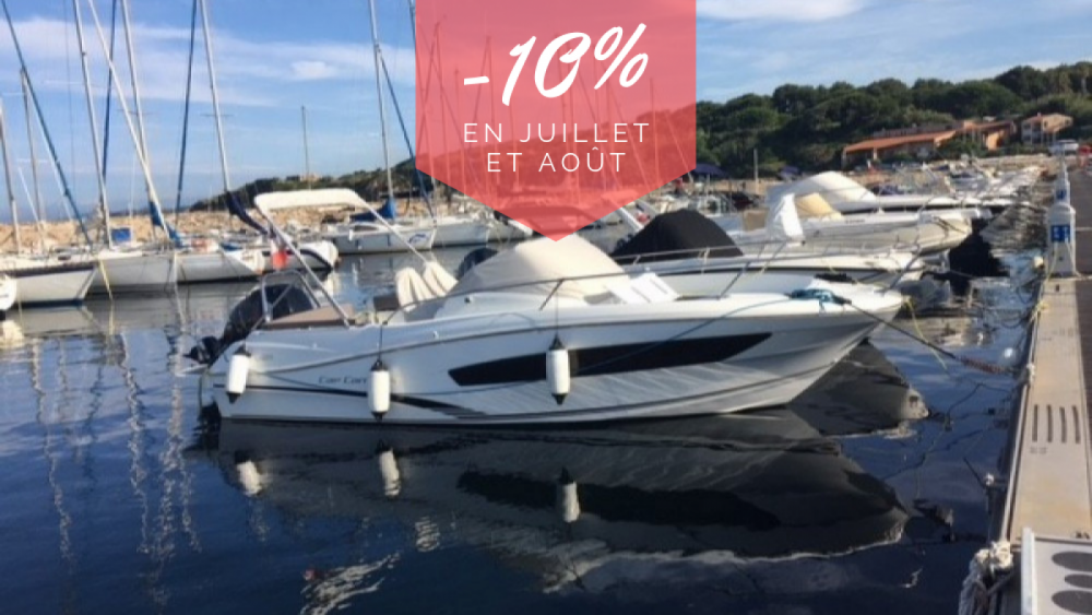 Hire Motorboat with or without skipper Jeanneau Six-Fours-les-Plages