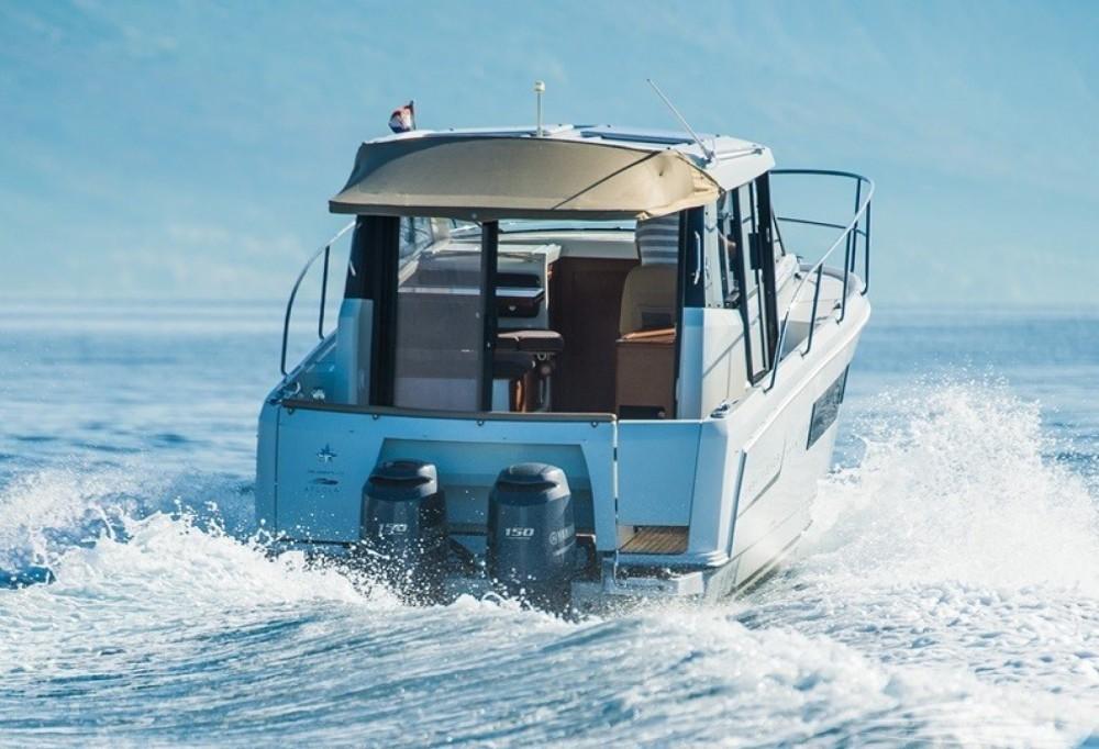 Boat rental Trogir cheap Merry Fisher 855