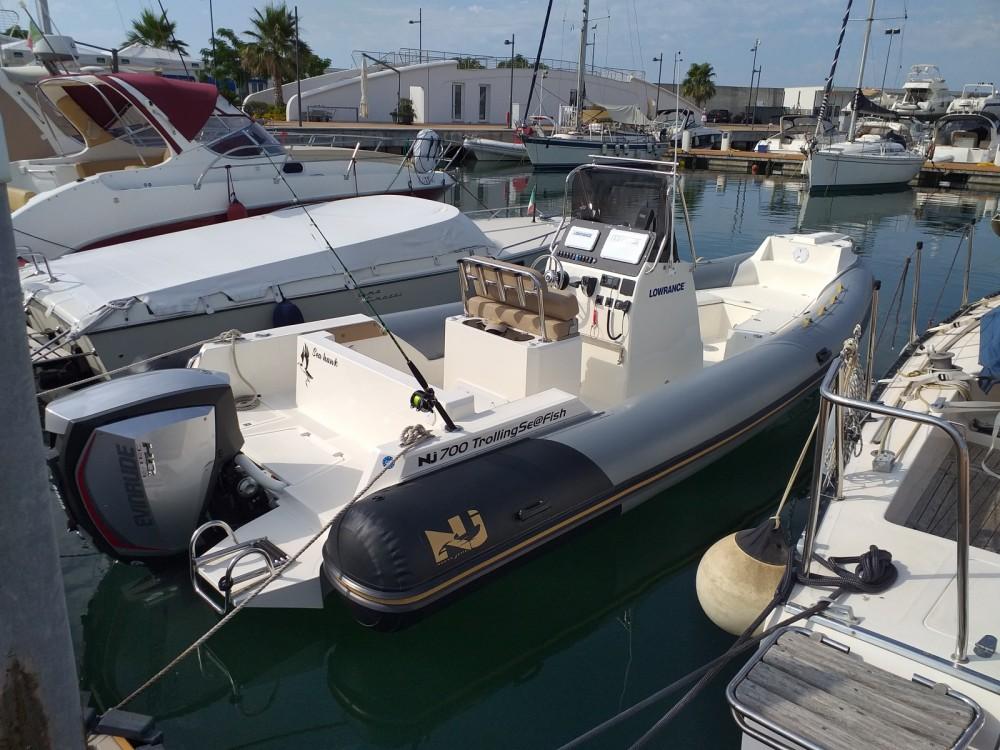Boat rental Nuova Jolly Sea fish 700 in Salerno on Samboat