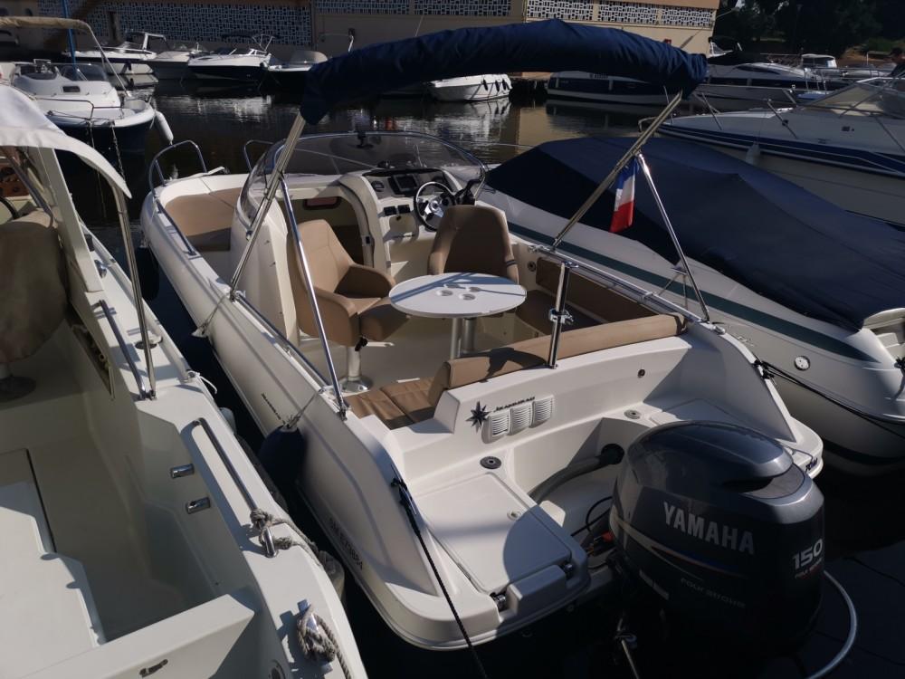 Boat rental Mandelieu-la-Napoule cheap Cap Camarat 6.5 WA