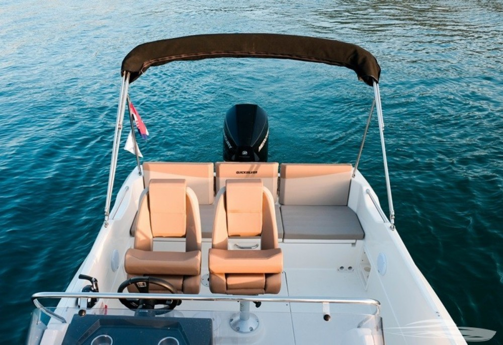 Boat rental Trogir cheap Quicksilver 675 Activ Sundeck