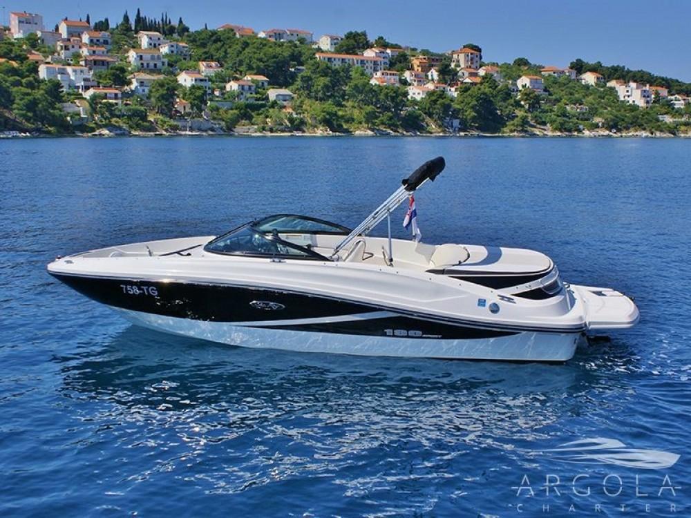 Boat rental Trogir cheap Sea Ray 190 Sport