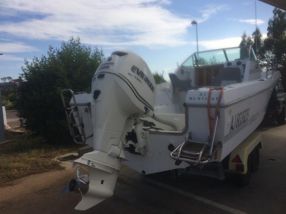 Rental Motorboat Sea-Hawk with a permit