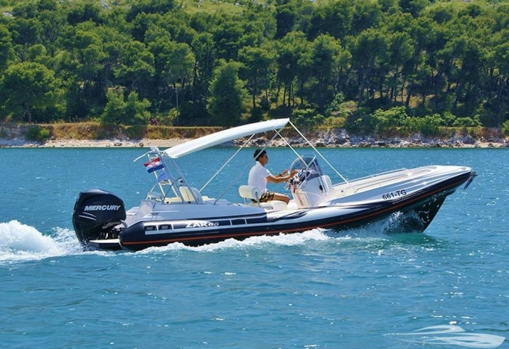 Hire RIB with or without skipper Zar Formenti Trogir