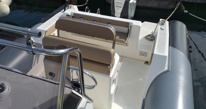 Hire RIB with or without skipper Nuova Jolly Salerno