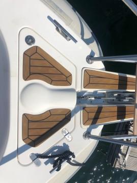 Boat rental Porto-Vecchio cheap Tempest 900 WA