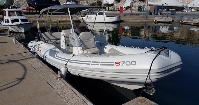 Boat rental Split cheap Sport 700