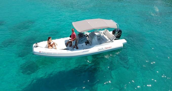 Rental yacht Split - Sacs Sport 700 on SamBoat