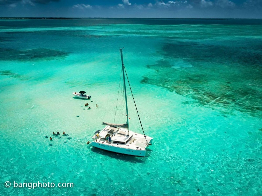 Boat rental West Bay cheap Lagoon 450 F