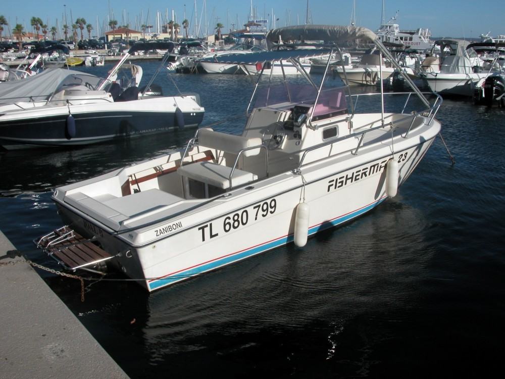 Hire Motorboat with or without skipper fisherman Le Lavandou