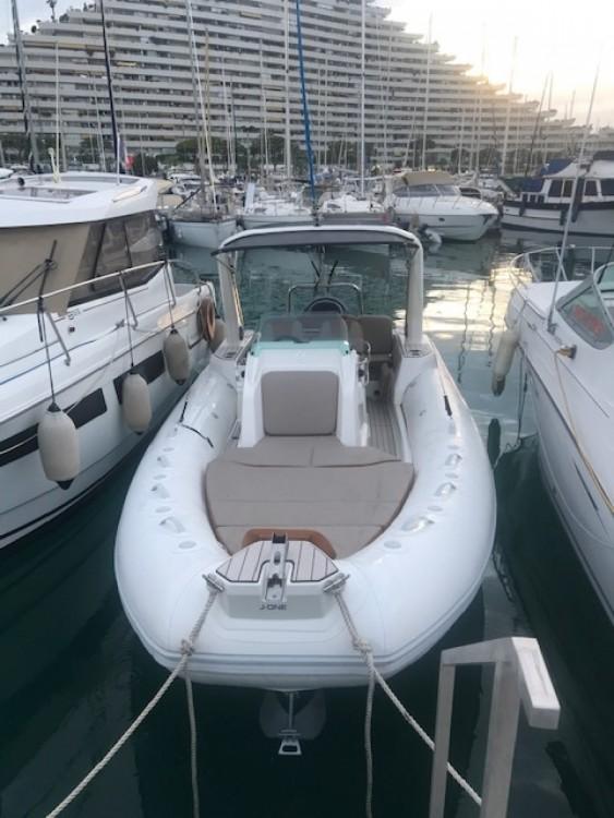 Hire RIB with or without skipper Zodiac Villeneuve-Loubet