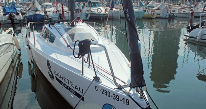 Rental Sailboat in Barcelona - Bénéteau First 24