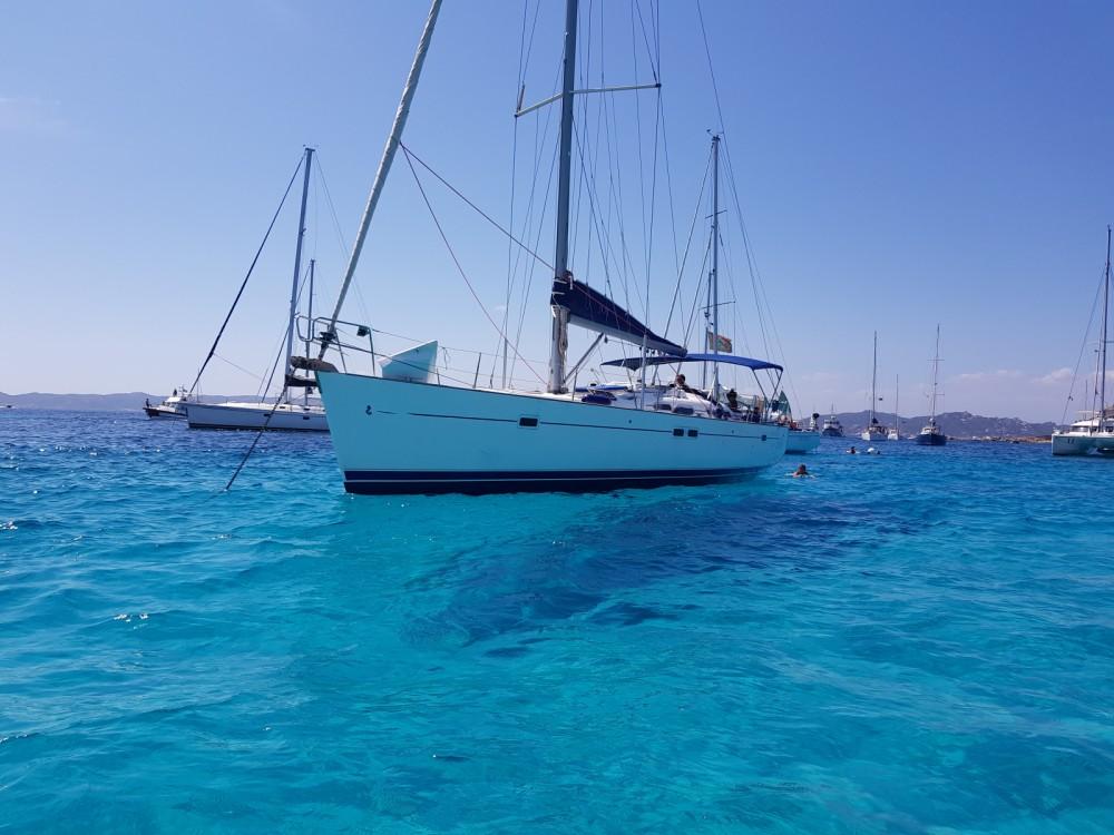 Boat rental La Maddalena cheap Oceanis 473 Clipper