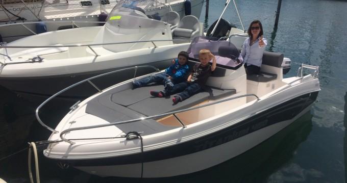 Rental yacht Saint-Raphaël - Polmir  Titanium430 on SamBoat