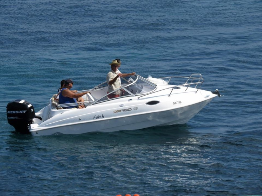 Hire Motorboat with or without skipper Drago Saint Julian's