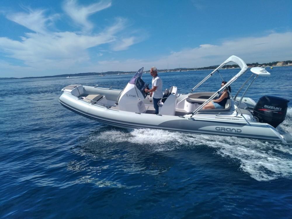 Boat rental Hyères cheap Golden Line G650