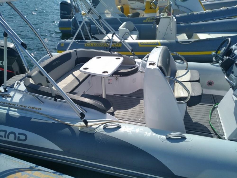 Rent a Grand Boats Golden Line G650 Hyères