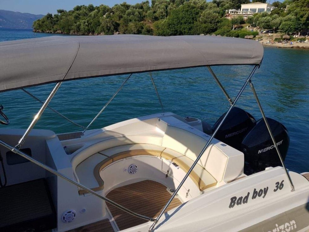 Rental yacht Gouvia - Horizon Bad Boy 36 on SamBoat