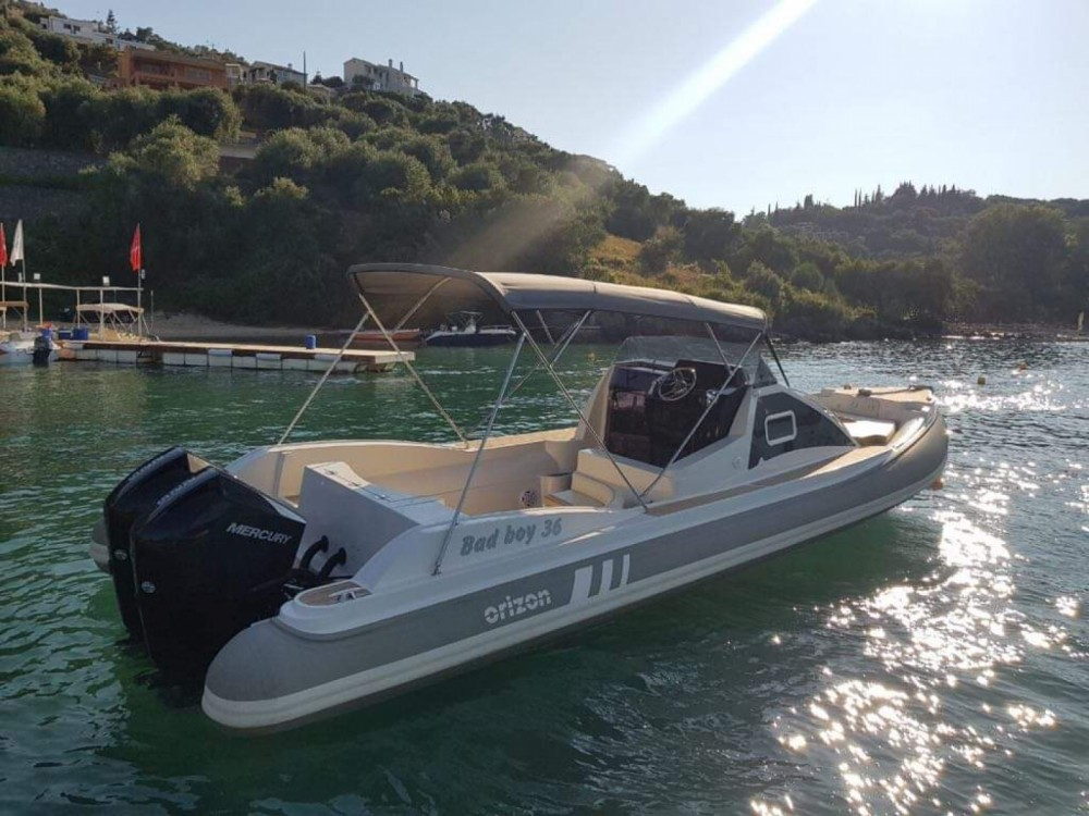 Hire RIB with or without skipper Horizon Gouvia