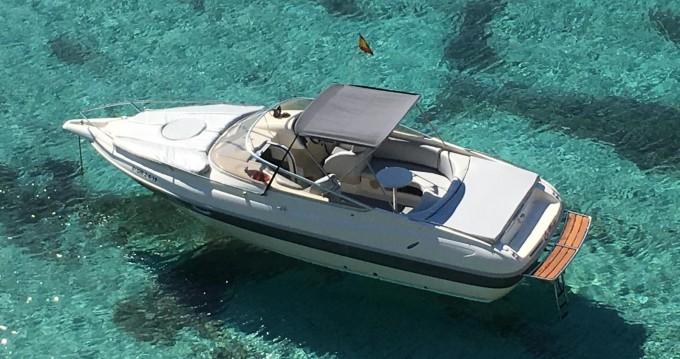 Boat rental San Antonio Port cheap Turchese 24