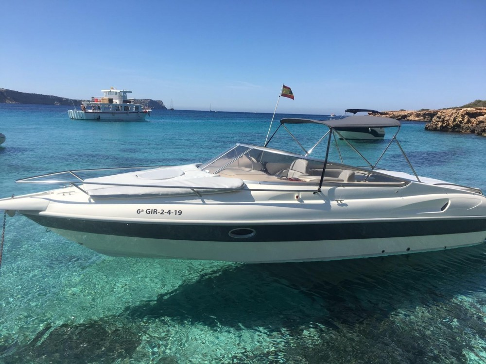 Cranchi Turchese 24 between personal and professional Balearic Islands