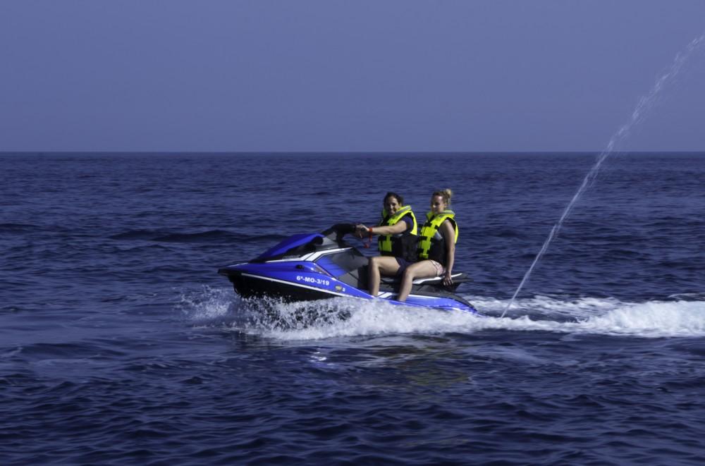 Boat rental Yamaha EX Deluxe in Nerja on Samboat