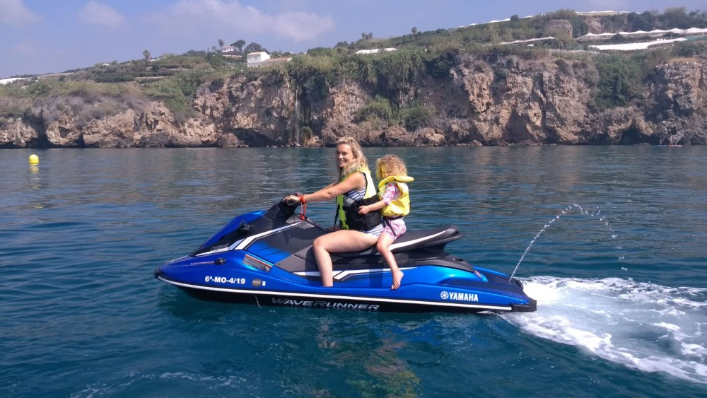 Yamaha EX Deluxe between personal and professional Nerja